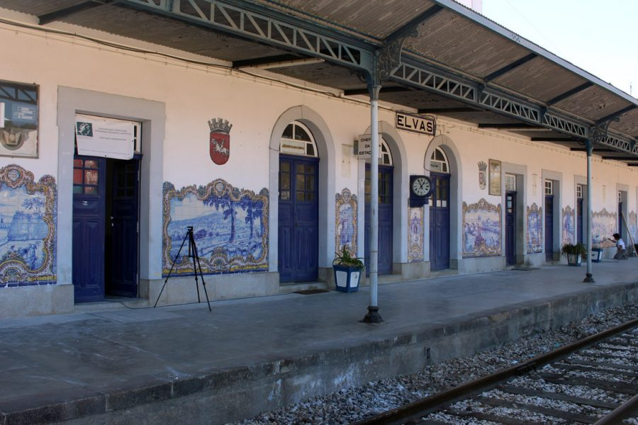 Tile Panels of Elvas Station