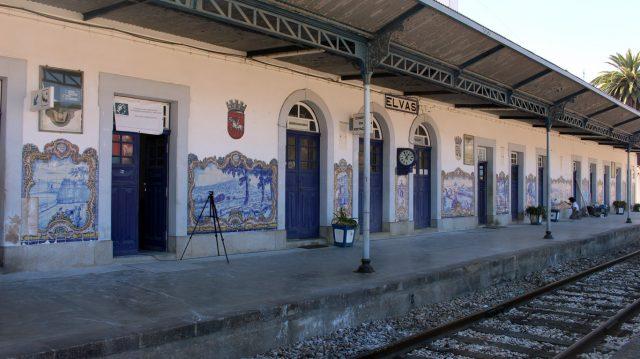 Tile Panels of Elvas Station