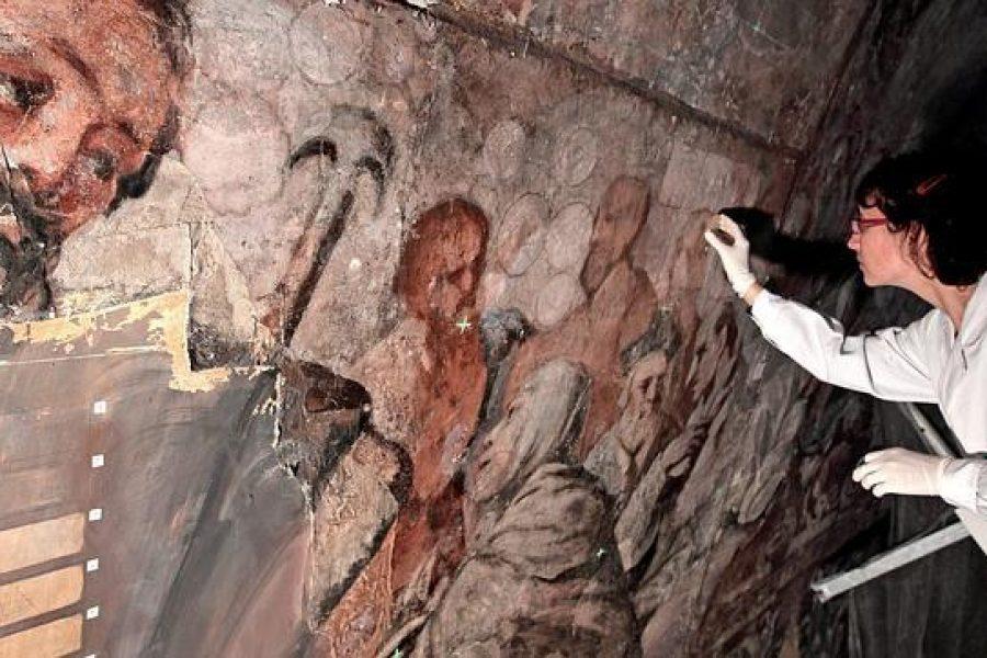 Conservação dos Frescos da Igreja de los Santos Juanes