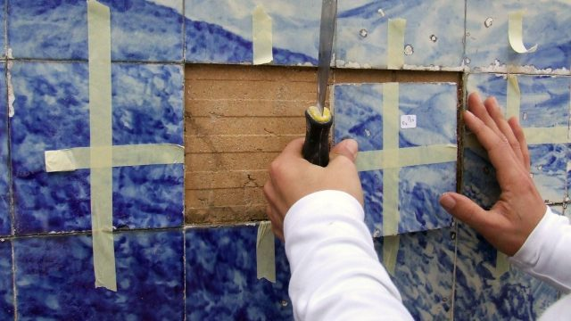 Tile lifting 2