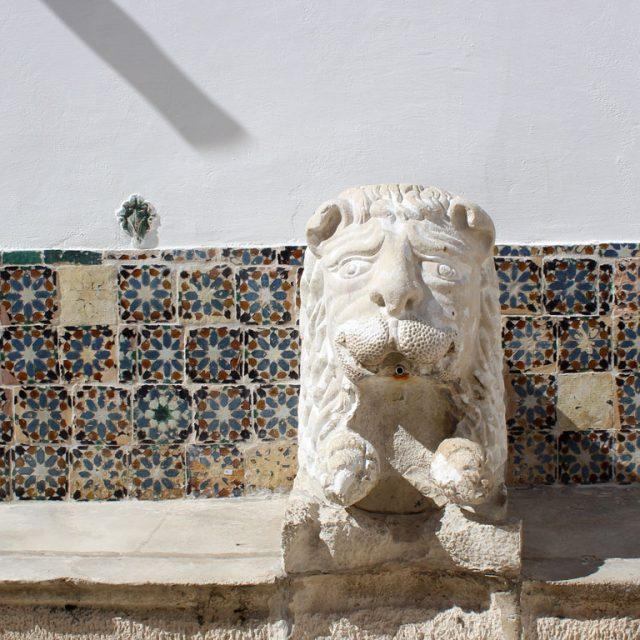 Pátio do Leão e Manteria Palácio Nacional de Sintra